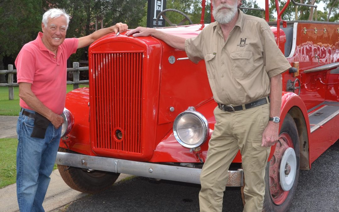 Red, Shiny And Guaranteed To Thrill All At Pioneer Village